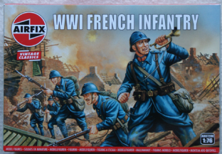 Airfix 1/72 AX00728V French Infantry (WW1)